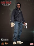 Iron Man 3 Movie Masterpiece Actionfigur 1/6 Tony Stark (The Mechanic) 30 cm