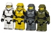 Halo 3 Actionfiguren Master Chief Serie 2 4er-Pack 6cm
