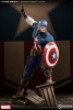 Marvel Premium Format Figur 1/4 Captain America Allied Charge on Hydra 56 cm VORBESTELL-ARTIKEL!